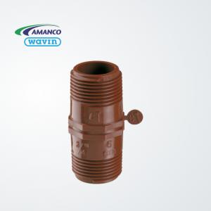Niple  inyectado 6 cm – PPM (rosca)