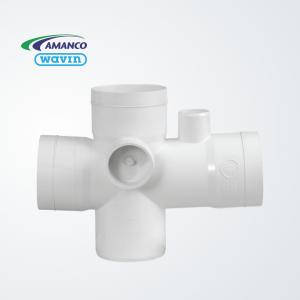 Ramal 90º doble ventilación PVC -Nivel 1