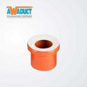 Adaptador concéntrico p/inodoro ø110 mm (2250) Awaduct