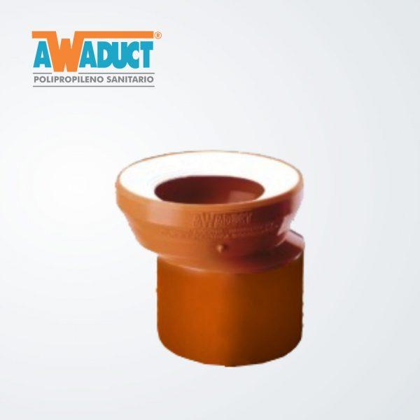 Adaptador excéntrico p/inodoro (2070) Awaduct