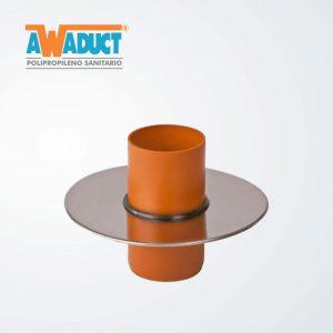 Disco antifiltraciones acero inoxidable ø 110 mm (4097) awaduct